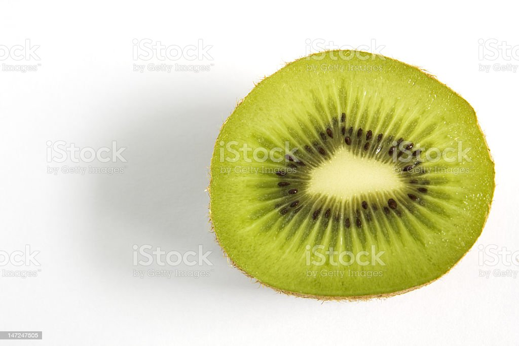 Kiwi fruit close up royalty-free stock photo