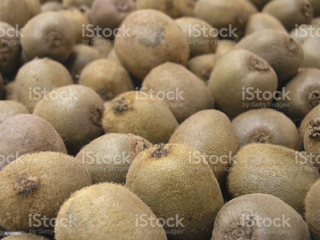 Kiwi Fruit from the market royalty-free stock photo