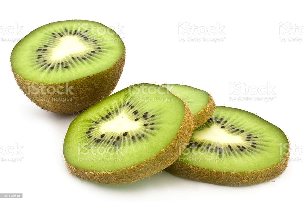kiwi fruit green royalty-free stock photo