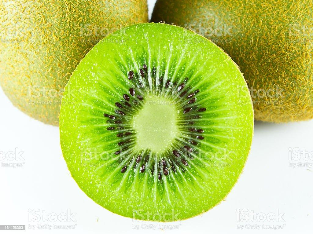 kiwi frutta isolato foto stock royalty-free