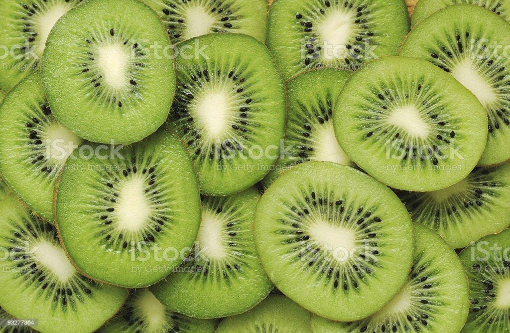 Kiwi pattern stock photo