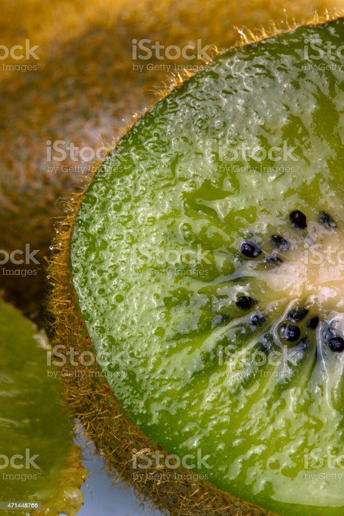 Kiwi slice stock photo