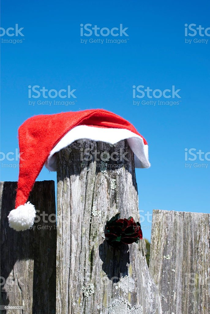 Kiwiana Christmas Rural Themed Image stock photo