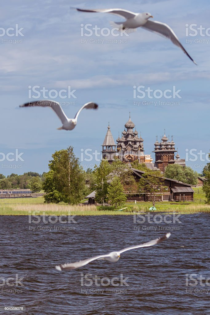 Kizhi island, Karelia, Russia stock photo