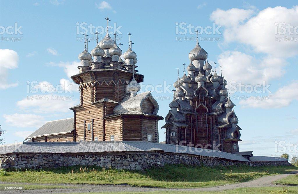 Kizhi Island stock photo