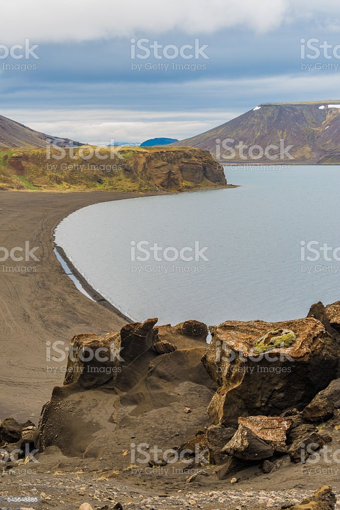 Klaeifarvatn lake, Iceland stock photo