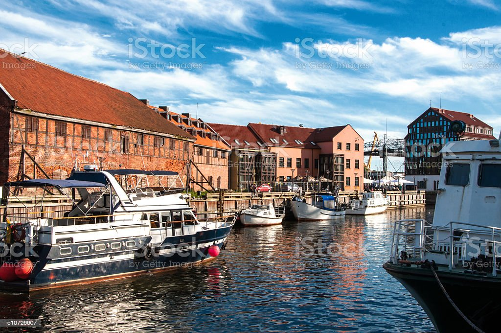 Klaipeda. Lithuania stock photo