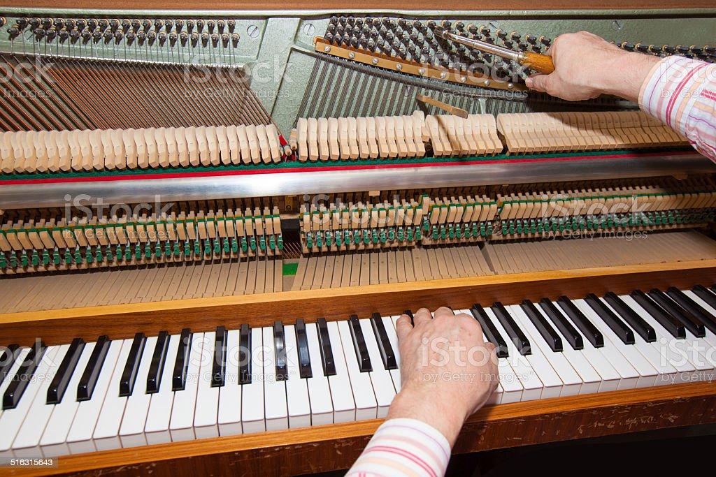 Klavier stock photo