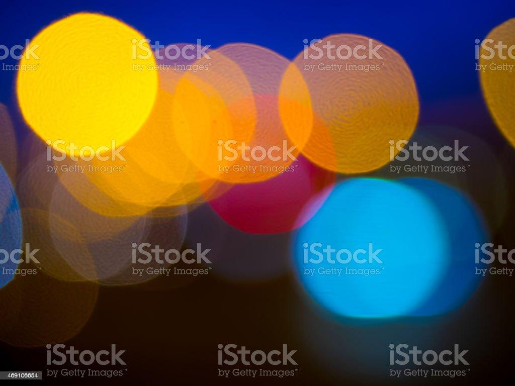 klee estilo defocused luzes de bokeh (desfoque de fundo) foto royalty-free