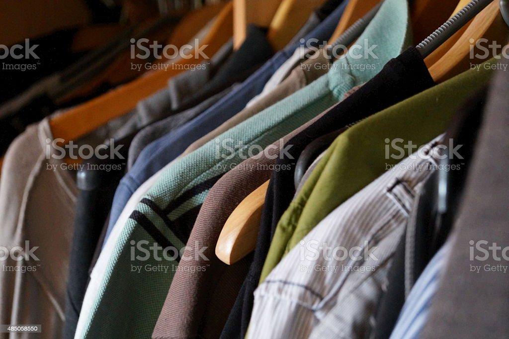 Kleiderschrank stock photo