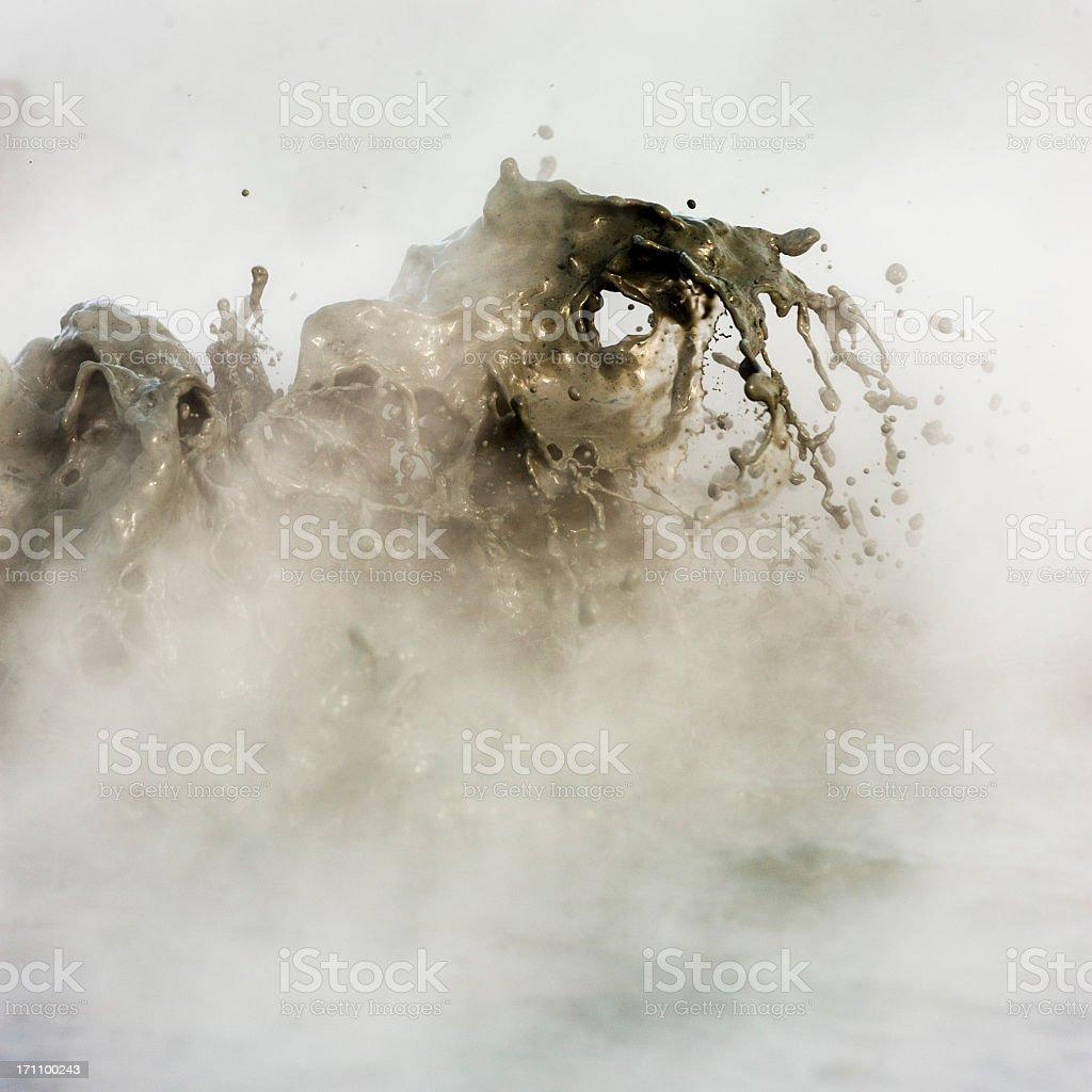 kleifarvatn, iceland stock photo
