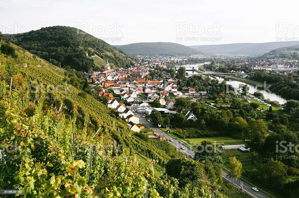 Klingenberg in Germany stock photo