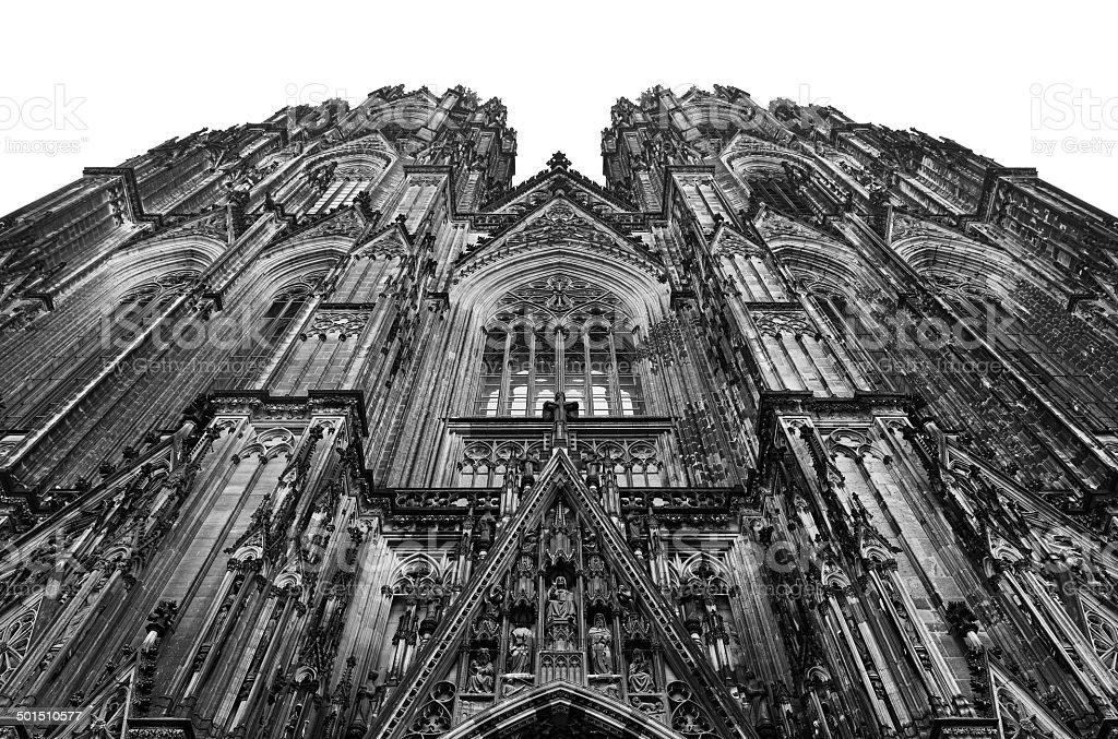 Kölner Dom - Westfassade stock photo