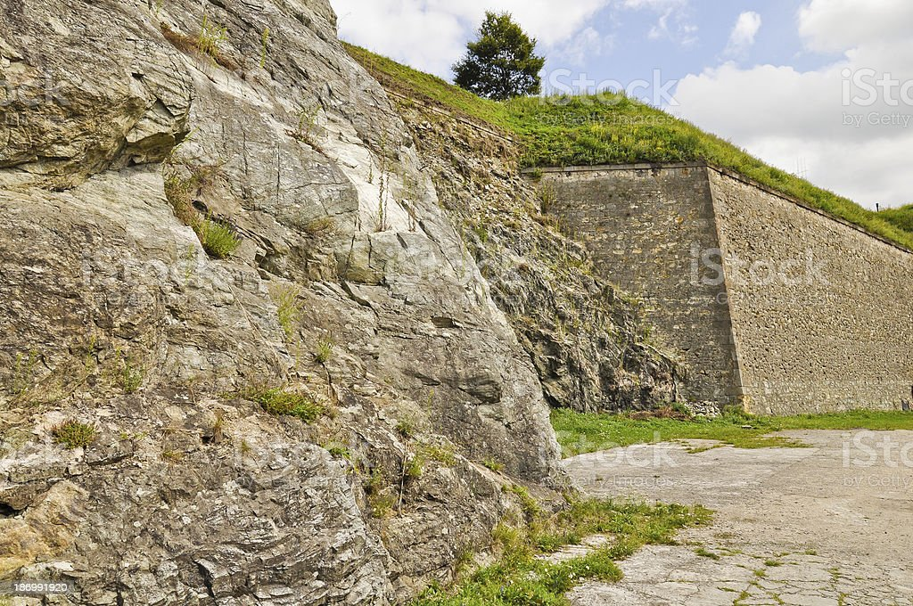 Klodzko Festung Wände Lizenzfreies stock-foto