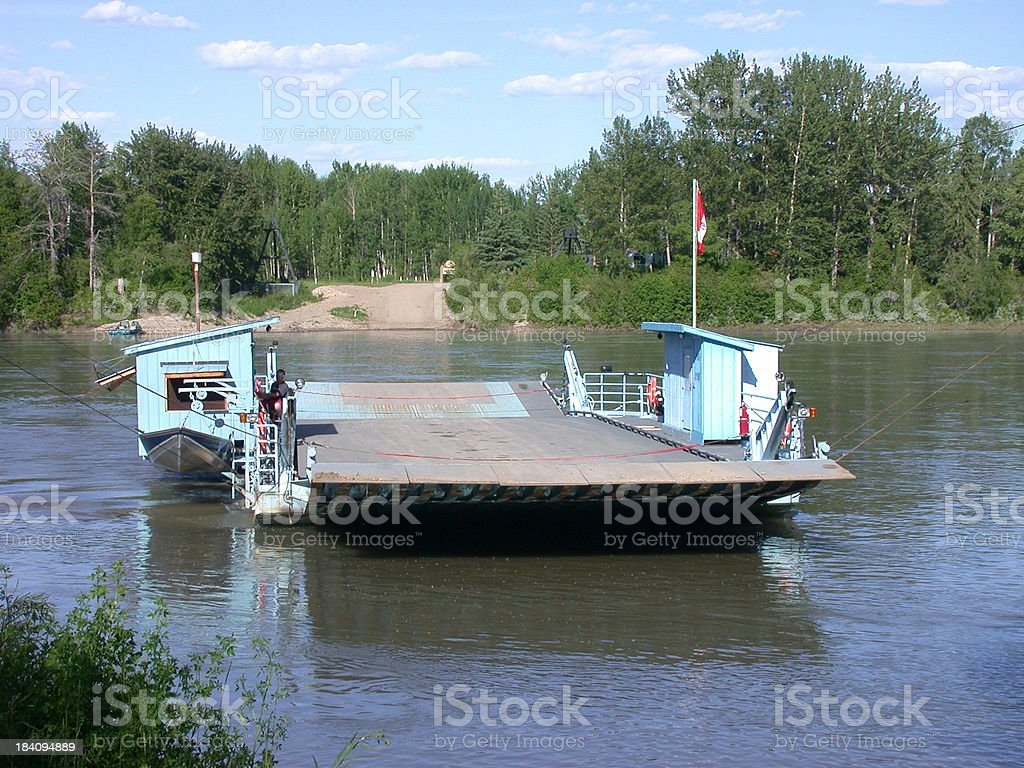 Klondike Ferry stock photo