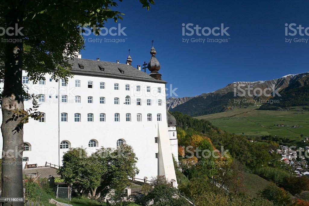 Kloster Marienberg stock photo