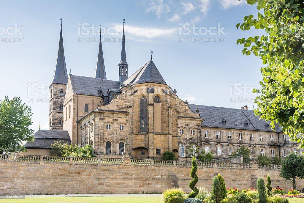 Kloster Michelsberg stock photo