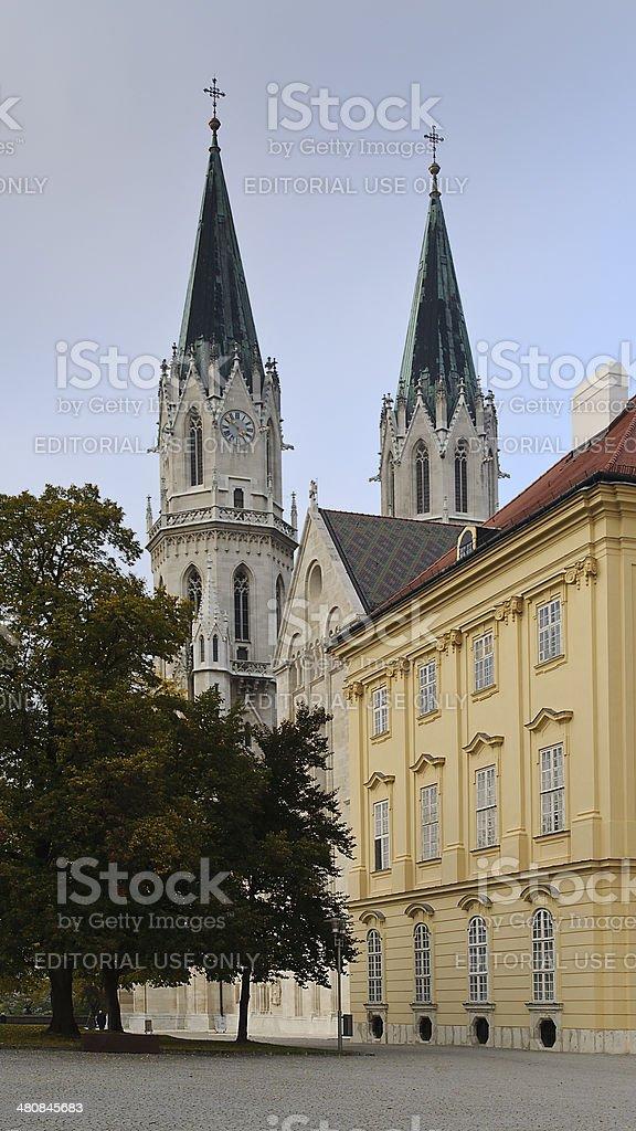 Klosterneuburg Monastery, Lower Austria stock photo