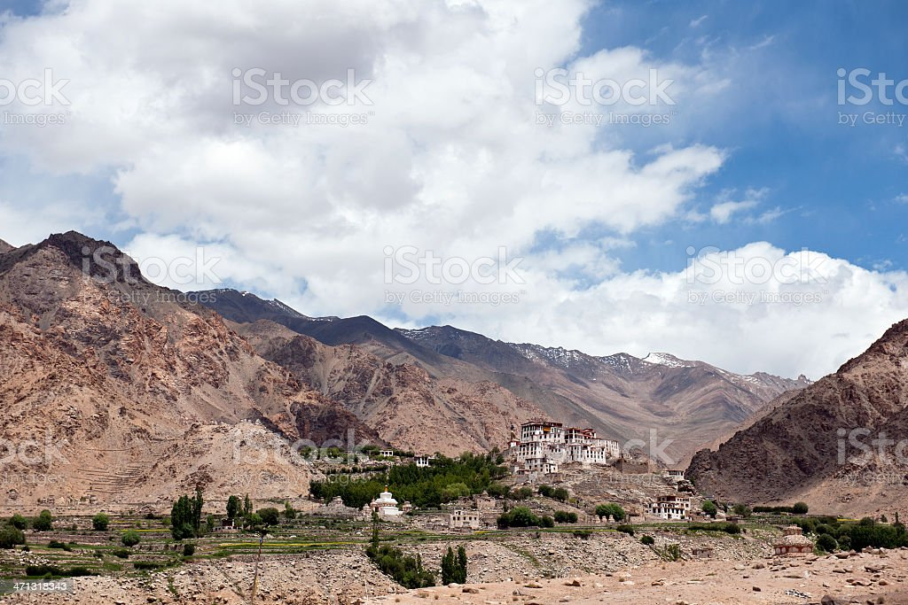 Klu-Kkhyl Gompa Likir Northern India stock photo