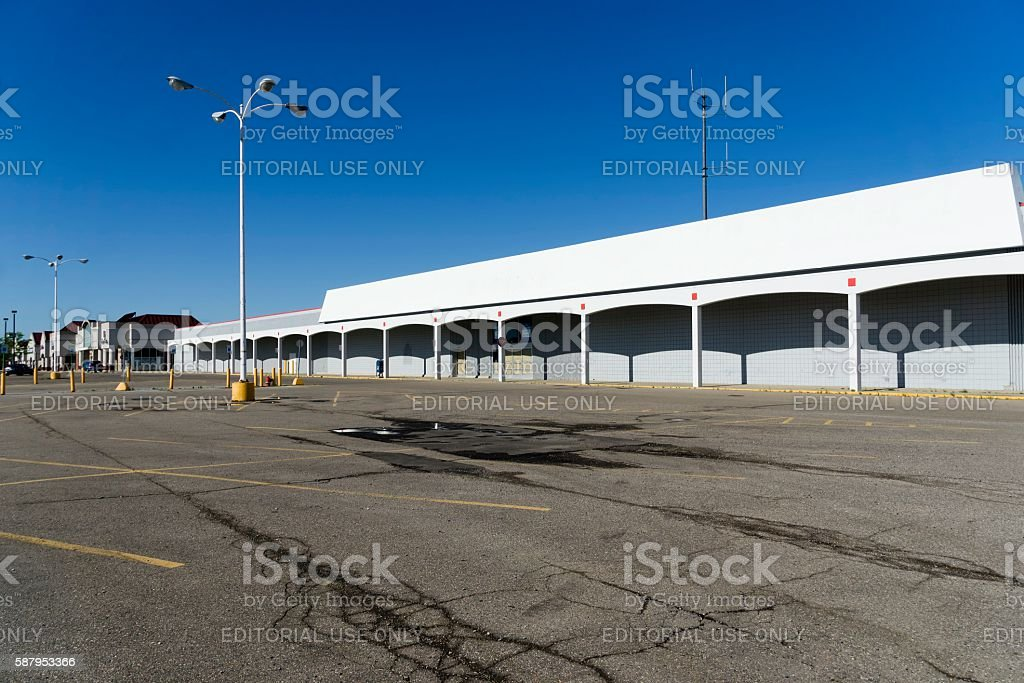 Kmart Store Out of Business stock photo
