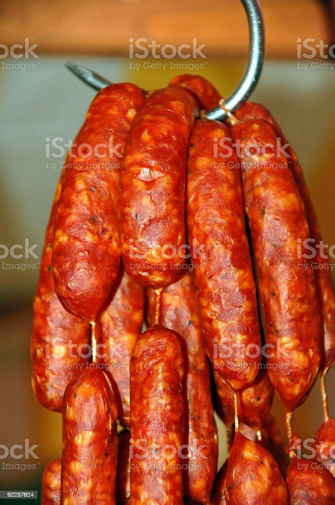 Knackwurst stock photo