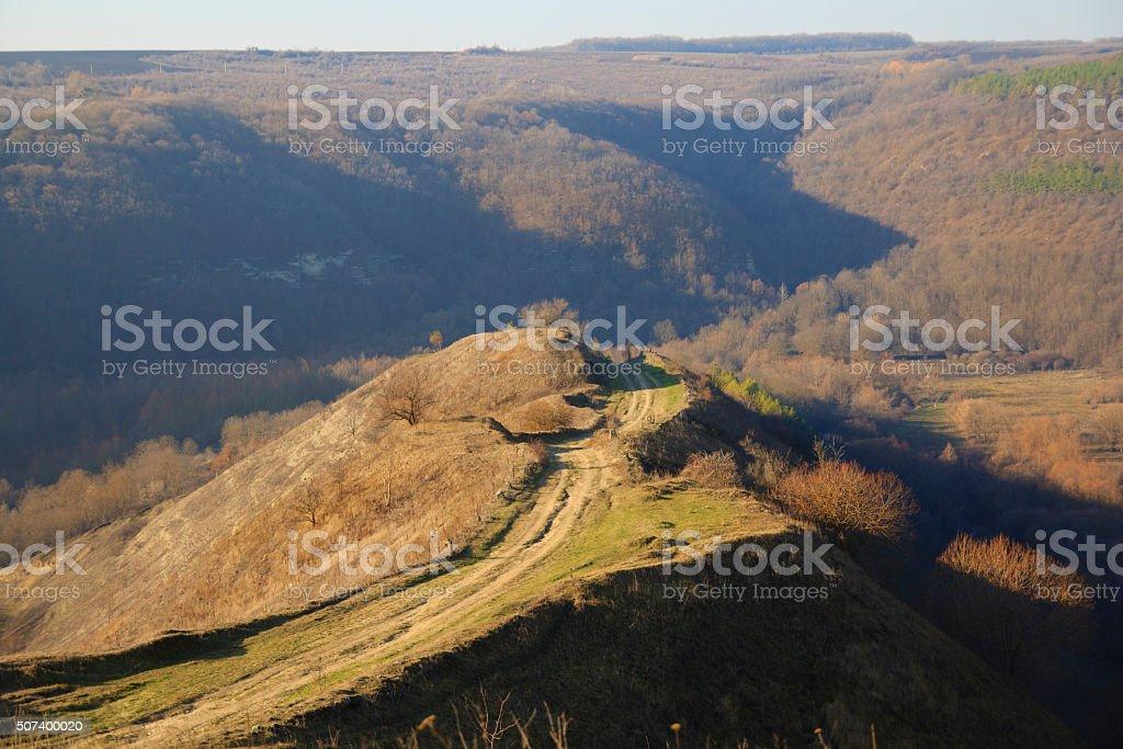 Knap Landscape stock photo