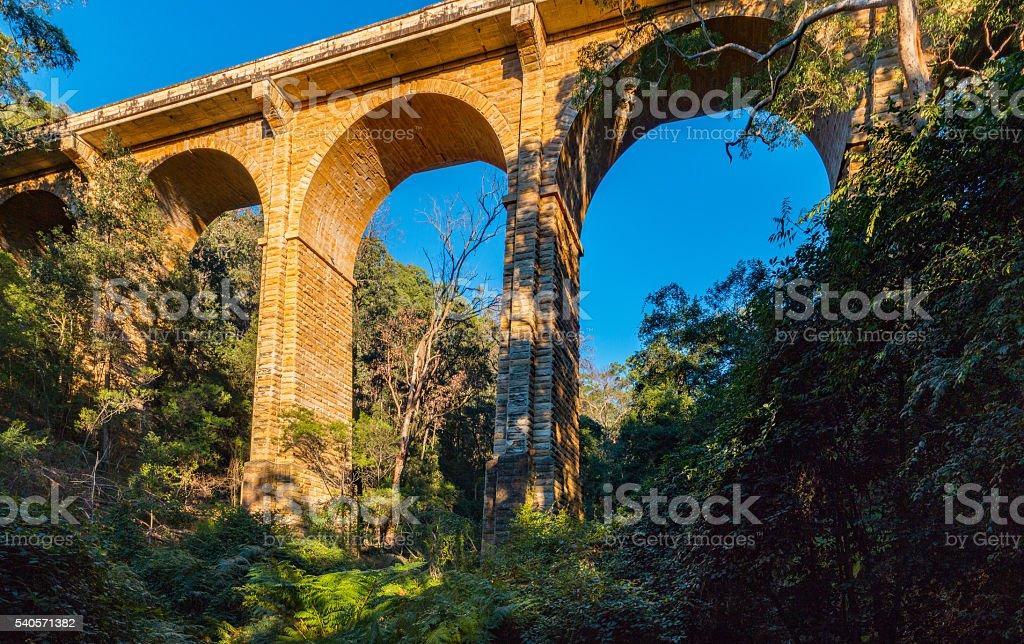 Knapsack Viaduct stock photo