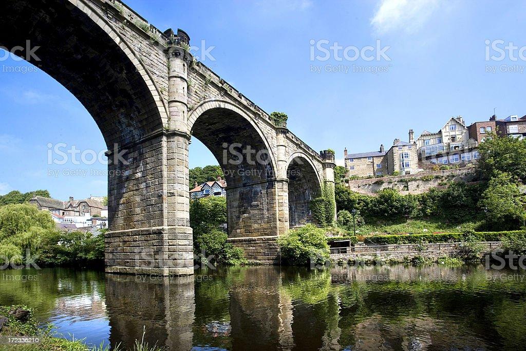 Knaresborough bridge royalty-free stock photo