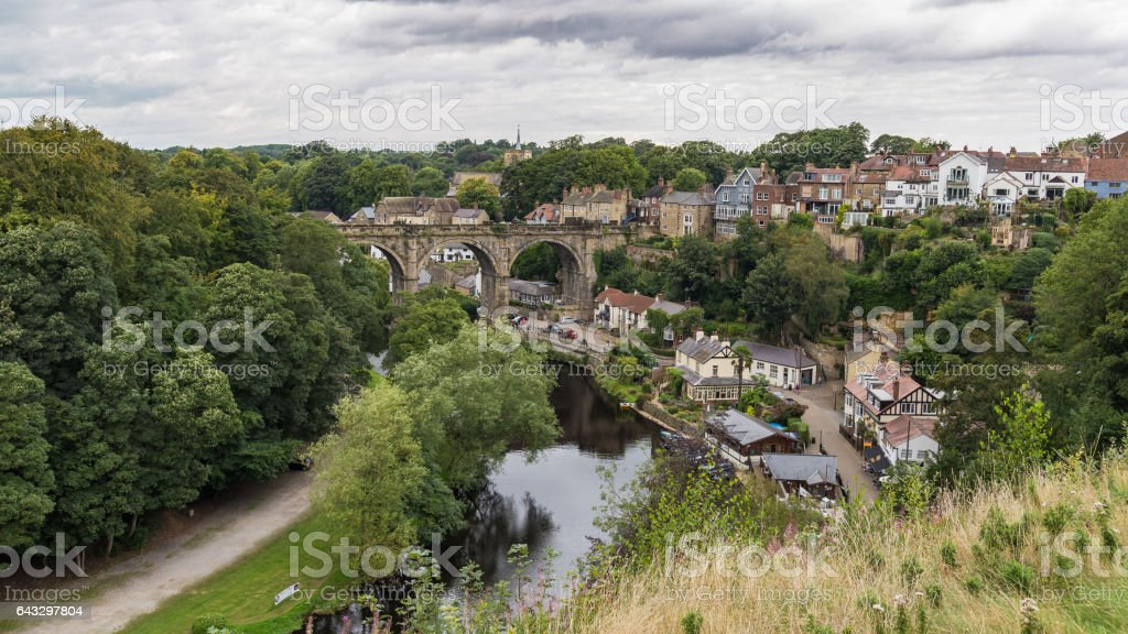 Knaresborough, North Yorkshire, UK stock photo