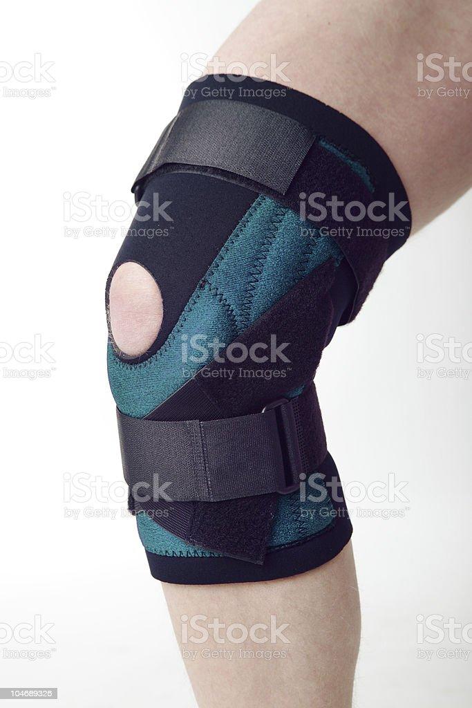 Knee pad stock photo