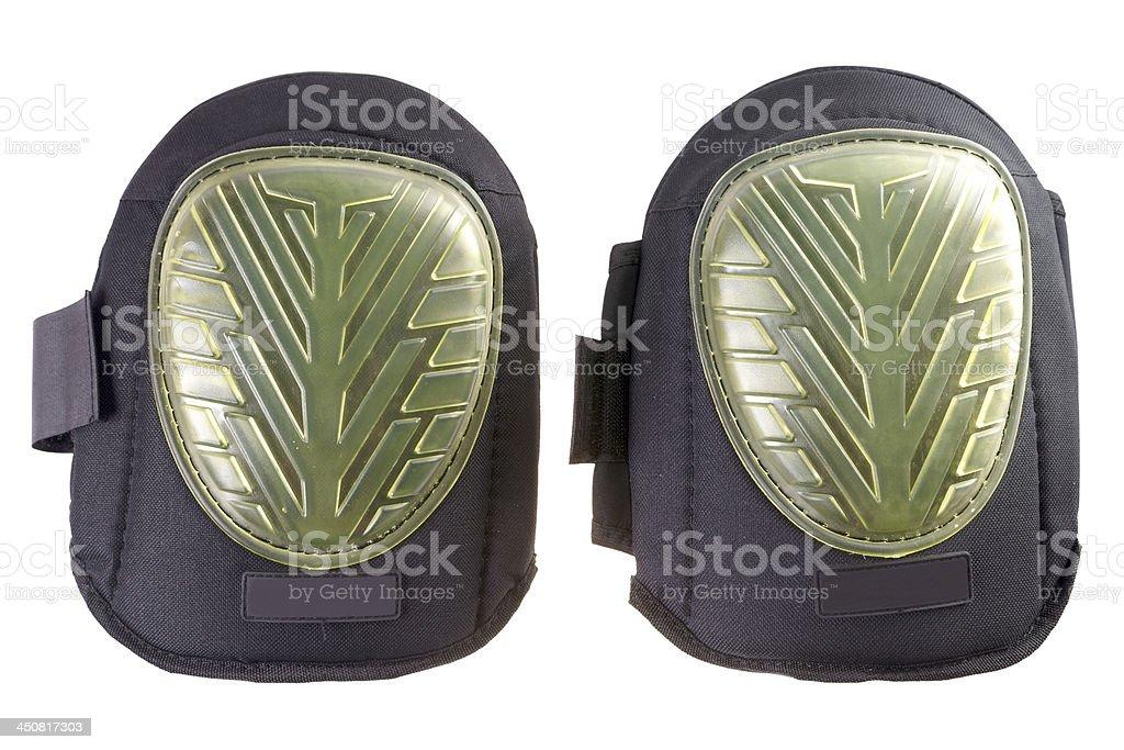 Knee pads stock photo