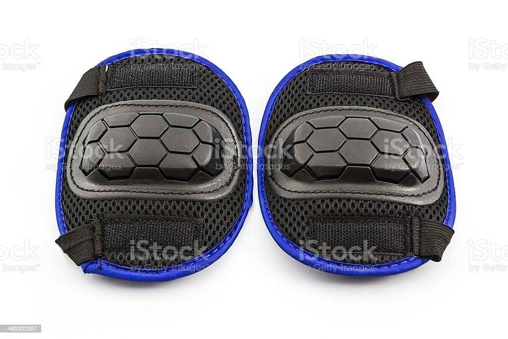 Knee pads. stock photo