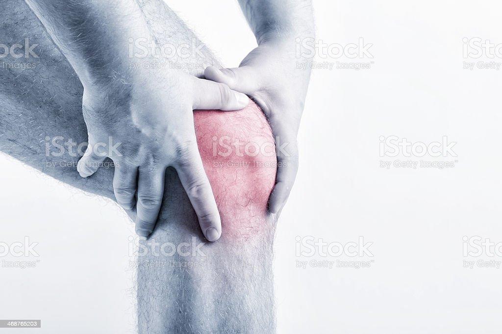 Knee Pain royalty-free stock photo