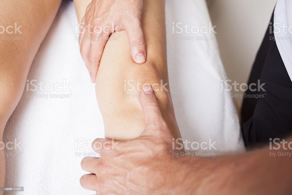 knee problems royalty-free stock photo