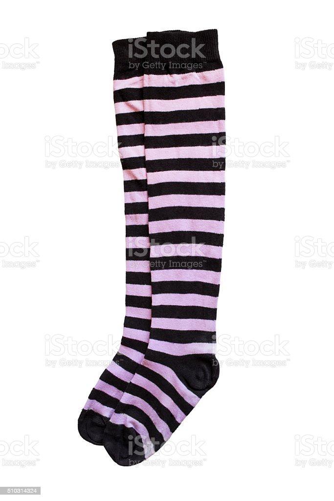 Knee socks stock photo