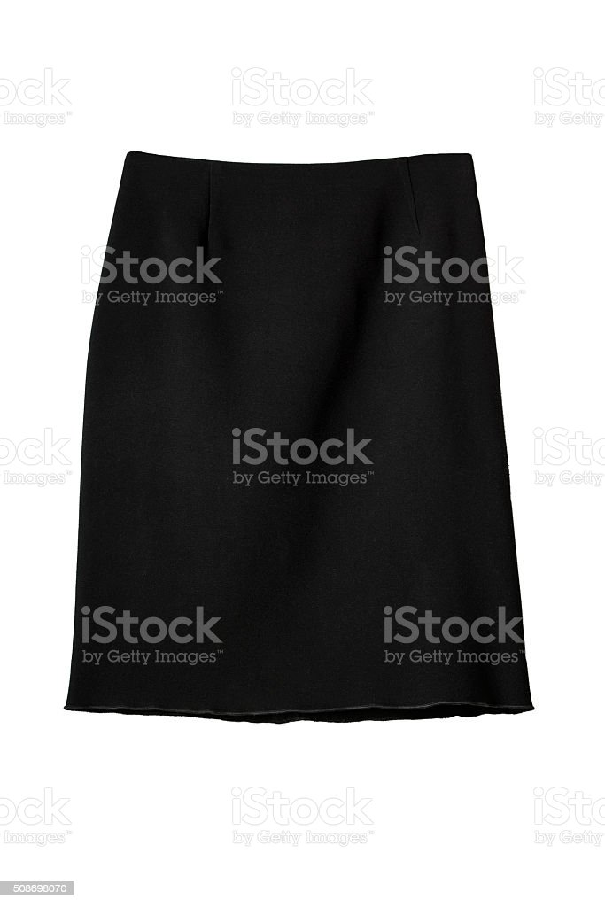 Knee-length skirt stock photo