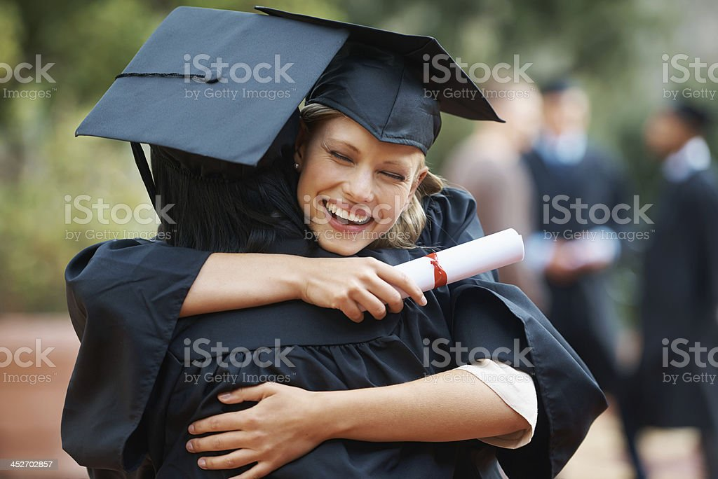 I knew we could do it! stock photo