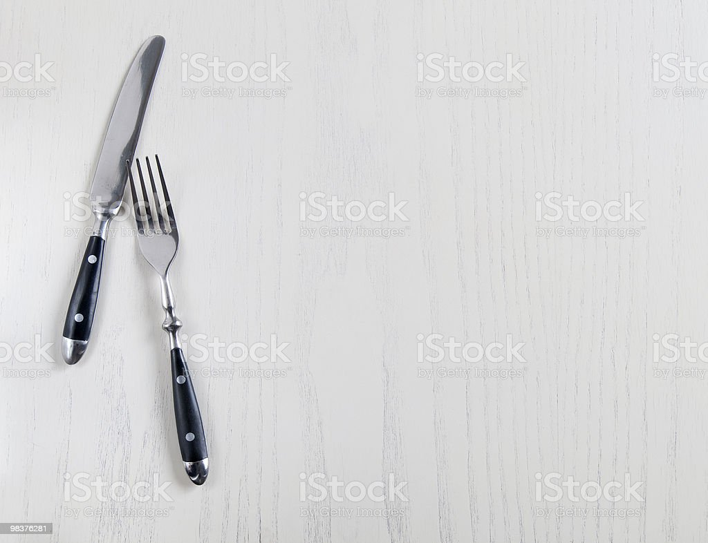knife and fork royalty-free stock photo