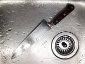 knife in the kitchen