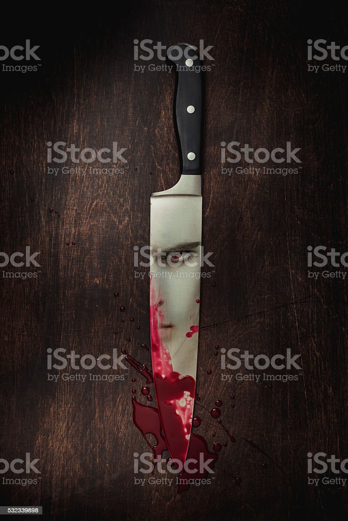 Knife stock photo
