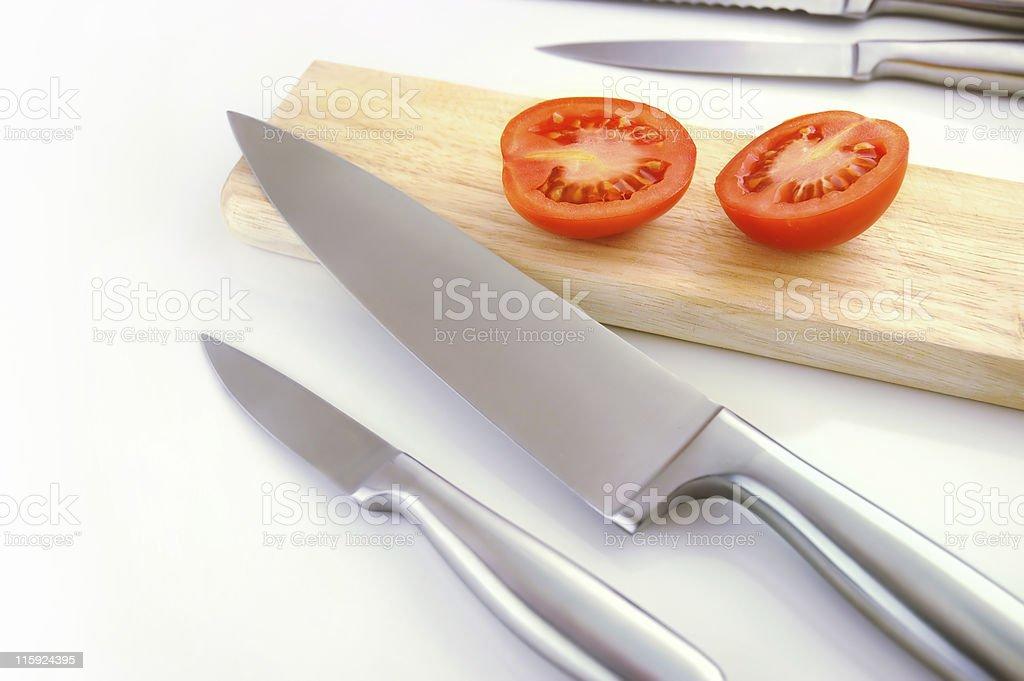 Knife set royalty-free stock photo