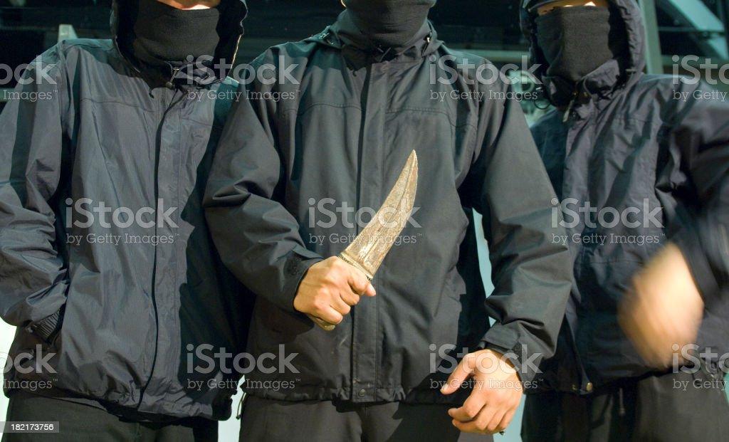 knife youth stock photo