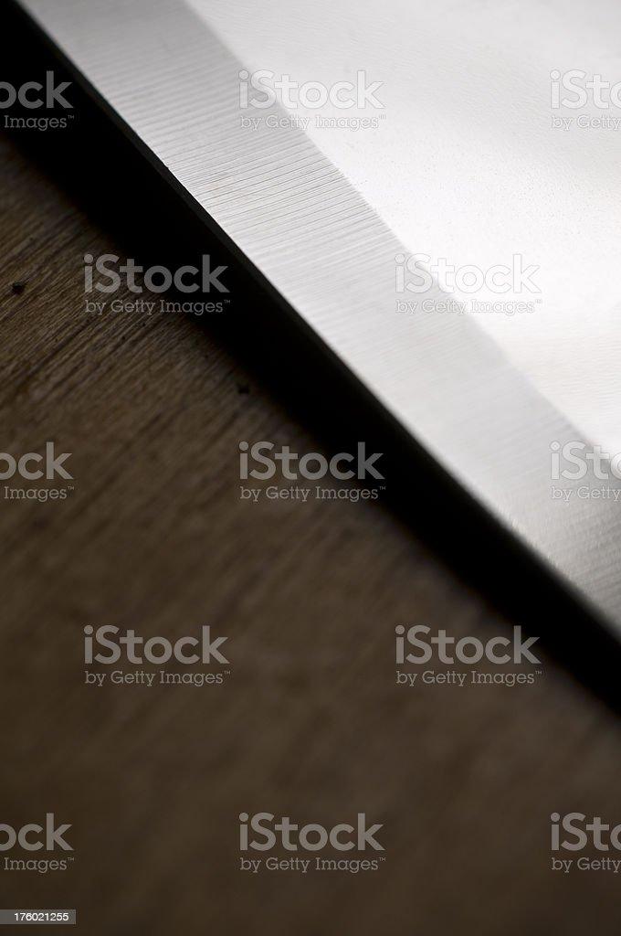 Knife's edge stock photo