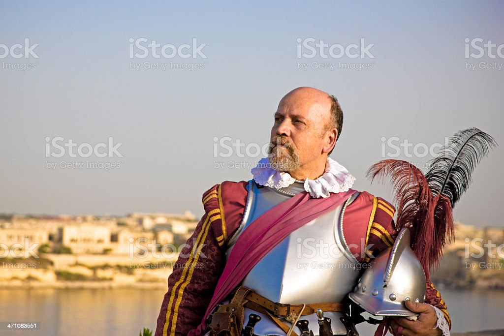 Knight Commander royalty-free stock photo