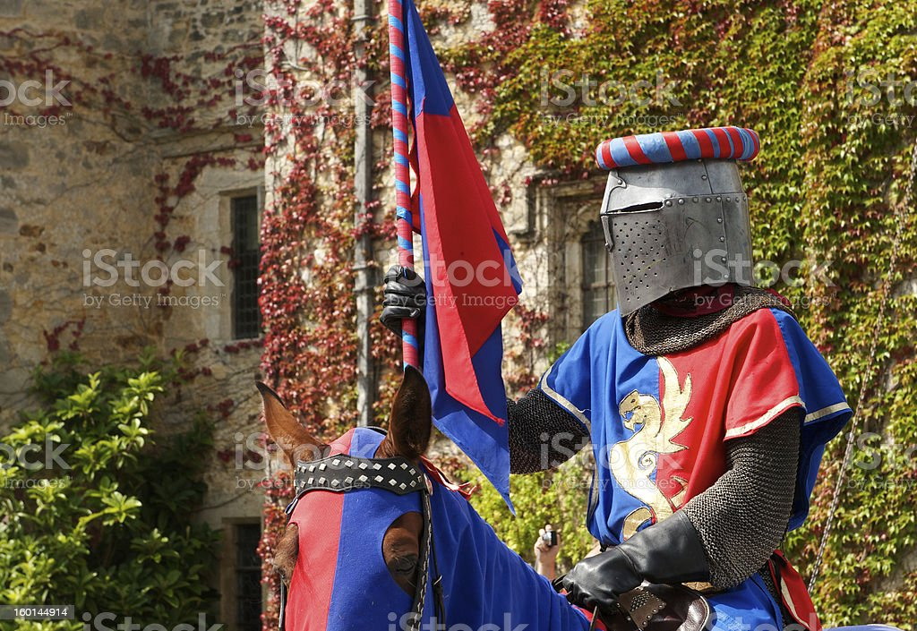 Knight guard stock photo