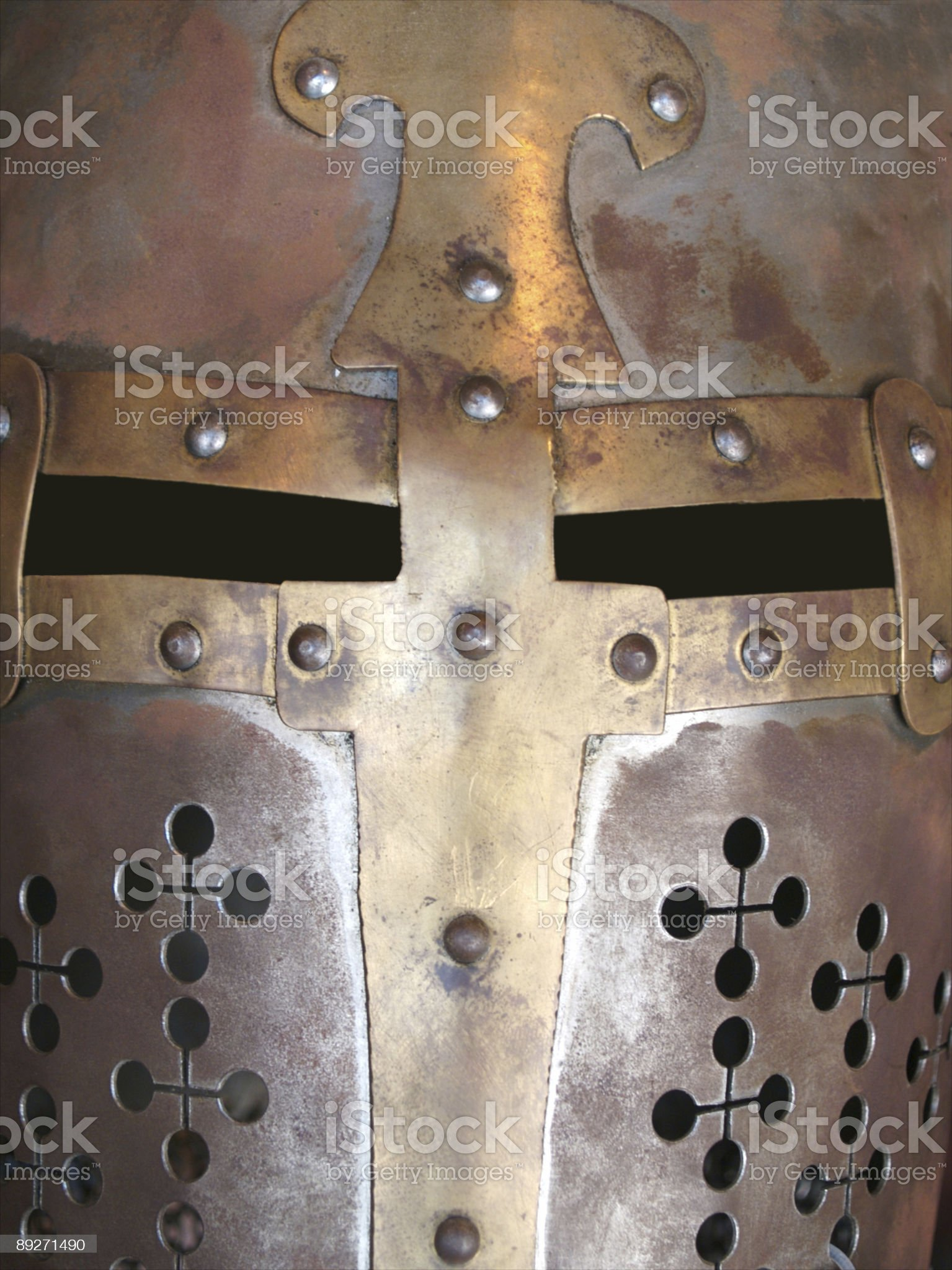 Knight Helmet royalty-free stock photo