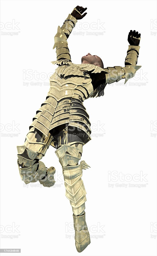 Knight in Armour - Impact stock photo