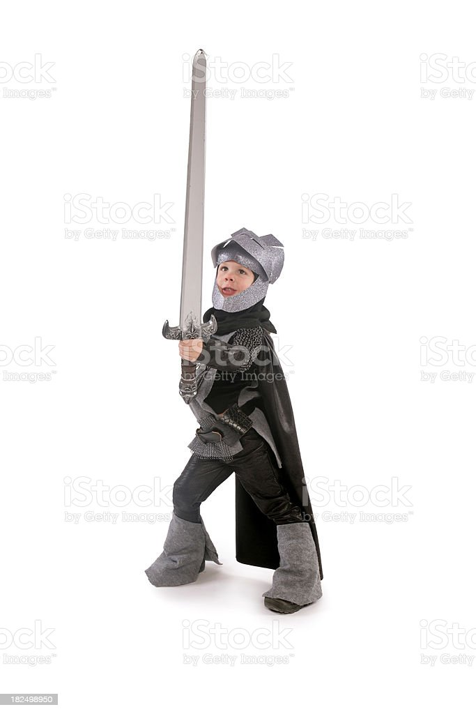 Knight in Shinning Armor royalty-free stock photo