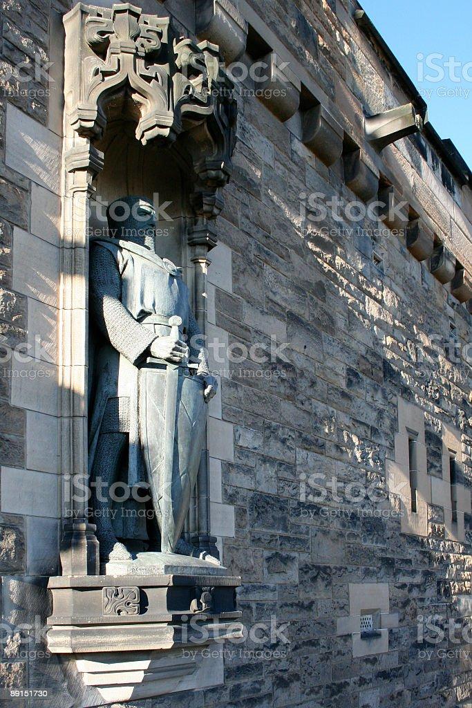 Knight von Edinburgh Castle-Scotland – Foto