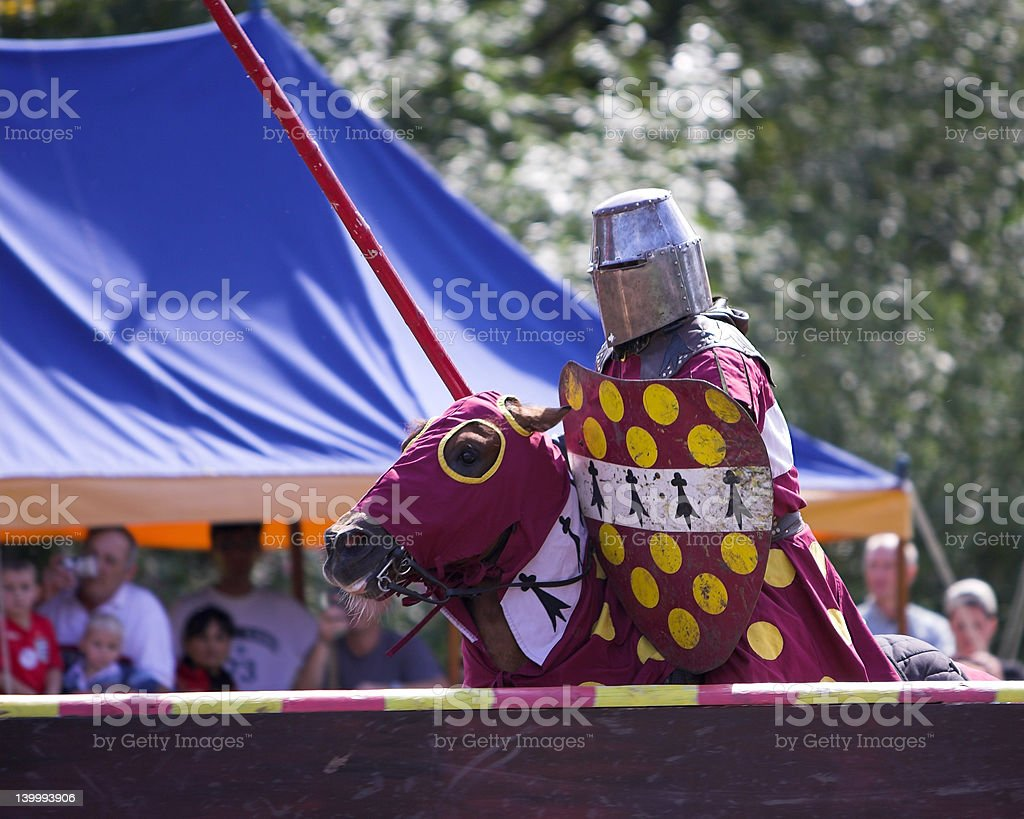 Knight royalty-free stock photo